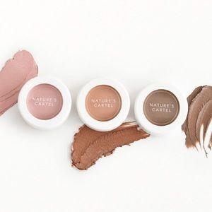 Nature's Cartel Cream Eyeshadow Trio